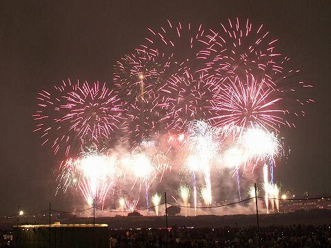 多摩川の花火大会