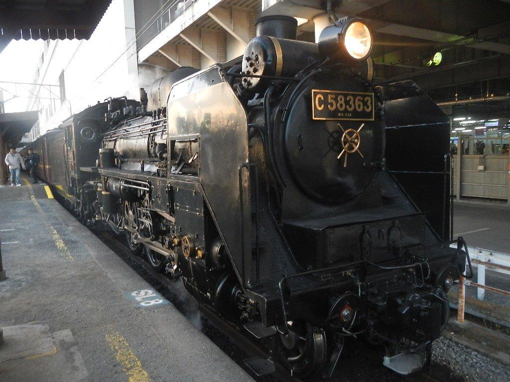 秩父の蒸気機関車